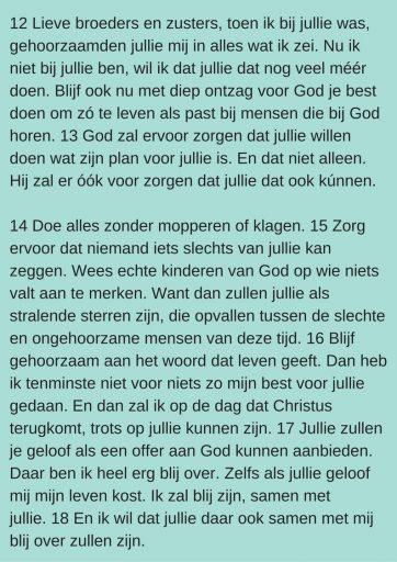 Filippenzen 2:12-18 Herziene Statenvertaling